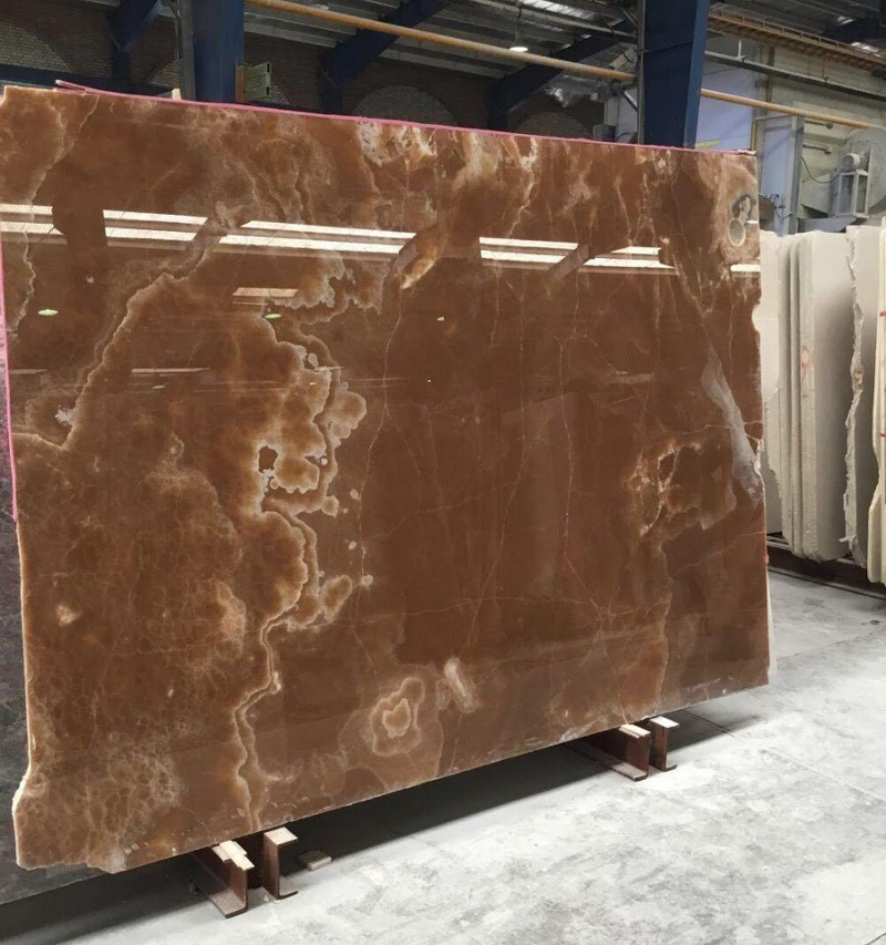 Brown Onyx Slabs