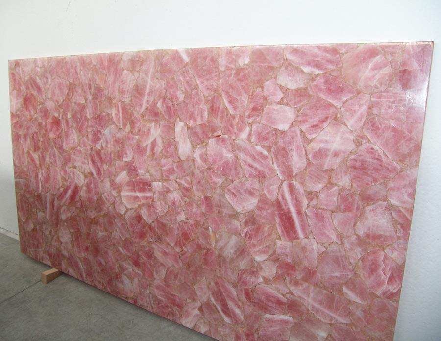 Pink Quartz Slabs