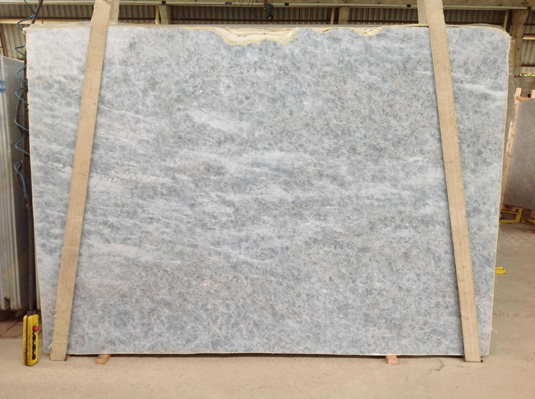 Blue Diamond Calcite Quartzite Slabs