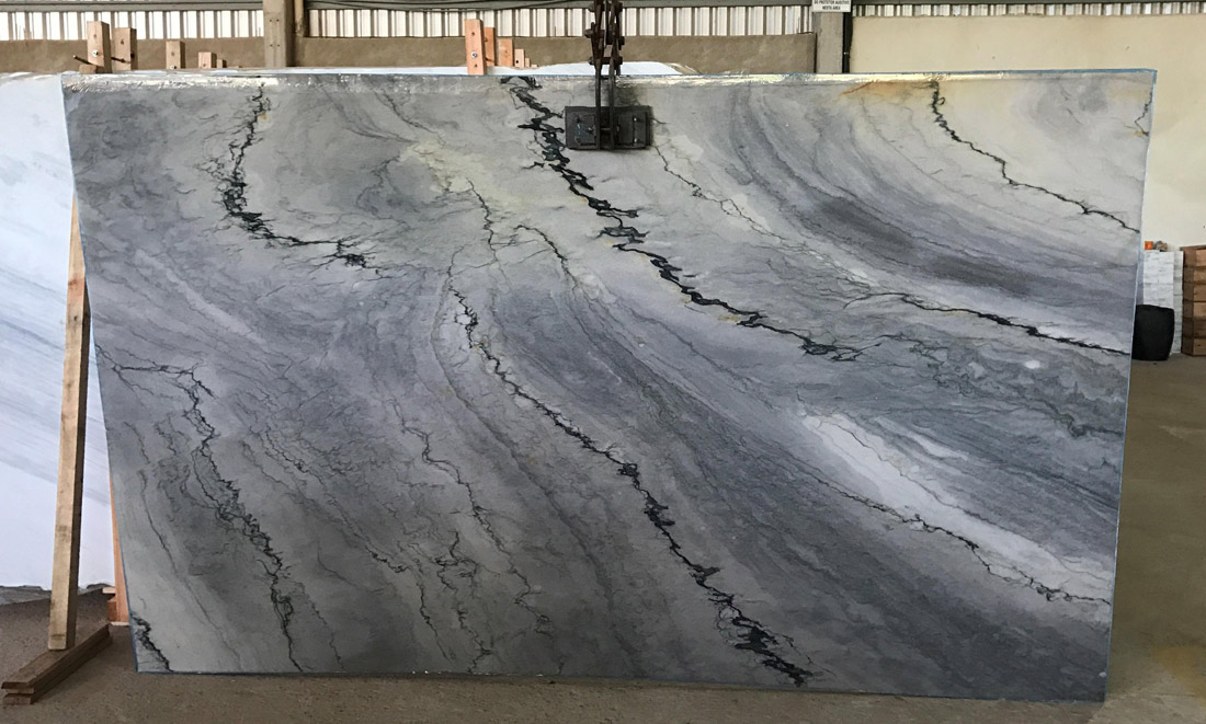 Blue Quartzite Slabs