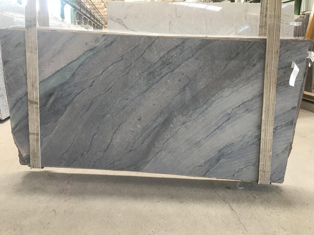 New Imperial Blue Quartzite Slabs