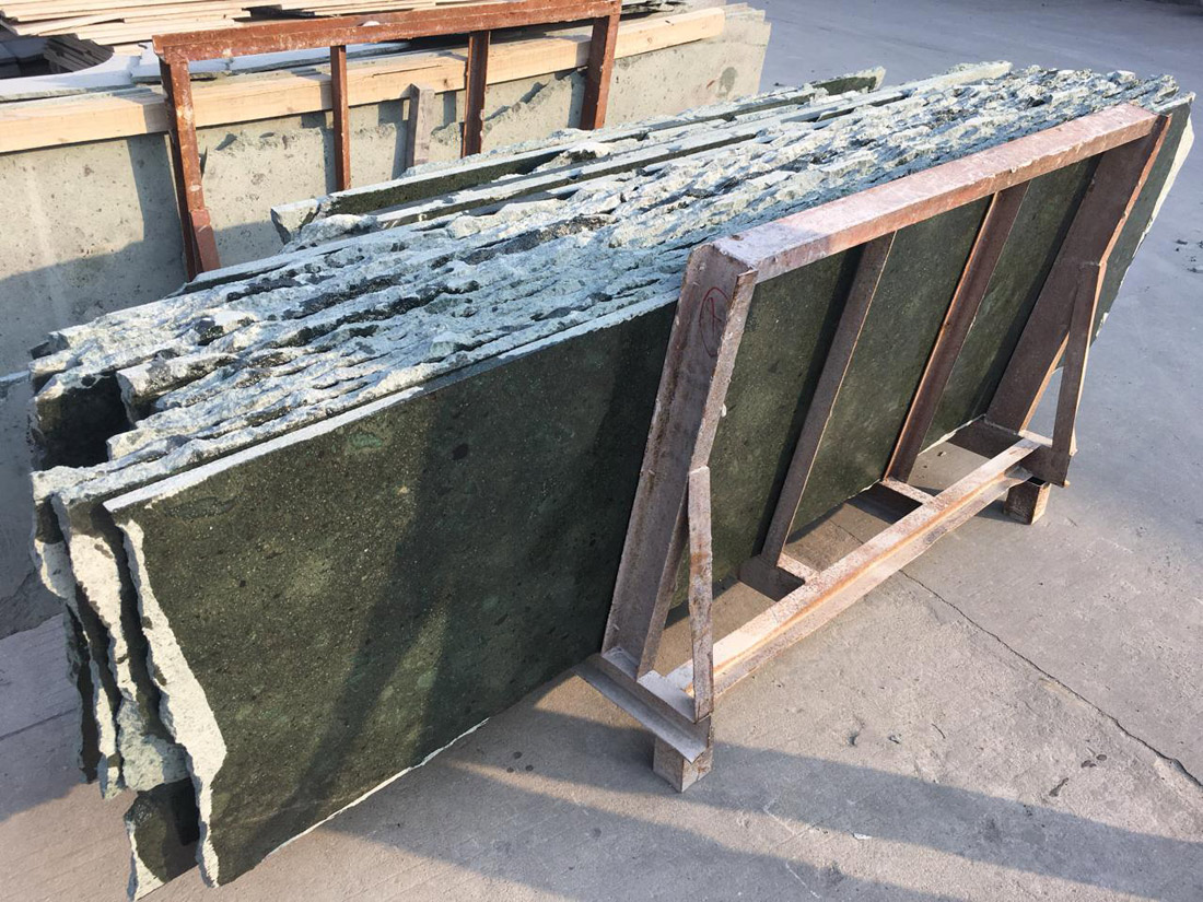 Chinese Green Sandstone Slabs