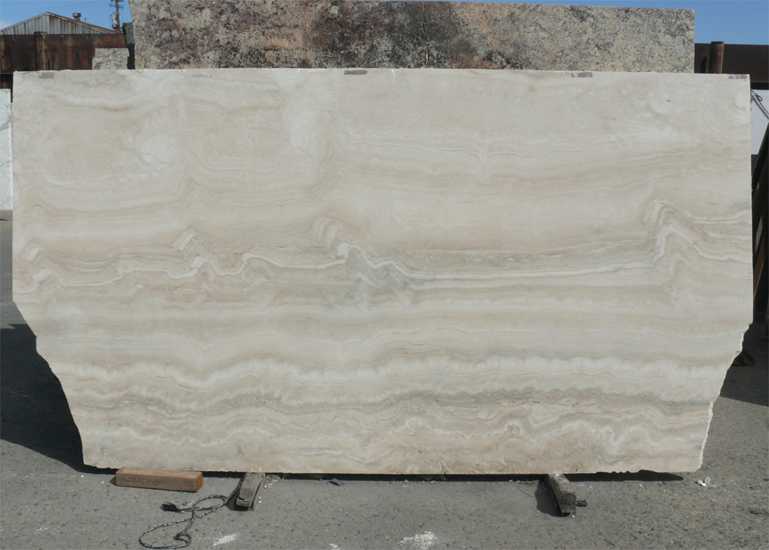 Alabastrino White Travertine Slabs