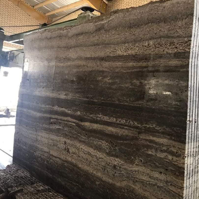 Silver Travertine Slabs for Projects