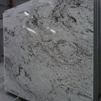 Orlando White Granite Slabs