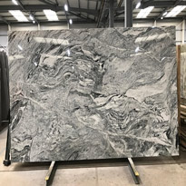 Cosmic White Granite Slabs