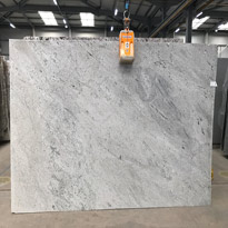 Himalaya White Granite Slabs