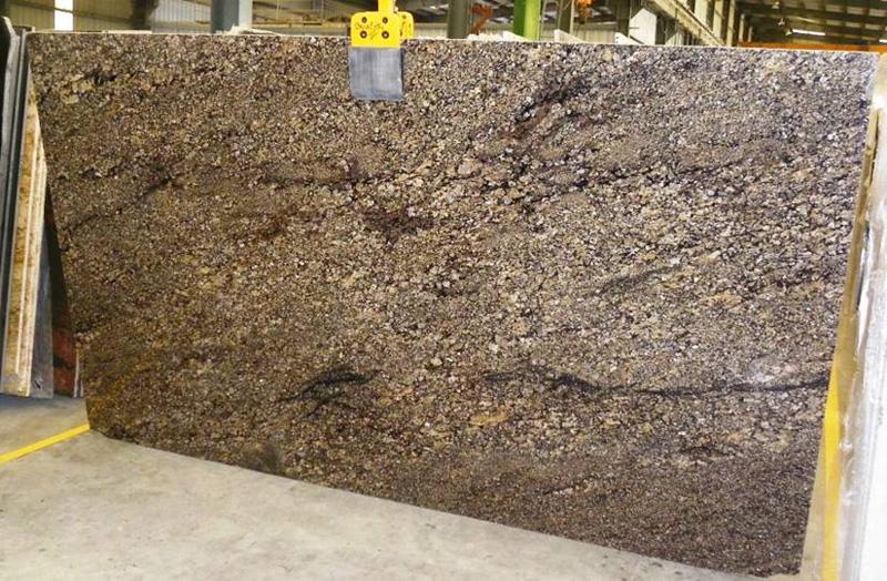 Coral gold granite slab india slabs