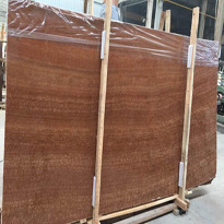 Brown Wood Marble Slabs