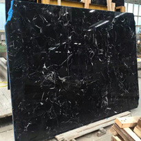 China Nero Black Marble Slabs