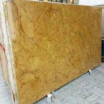 Lavish Lava Gold Marble Slabs