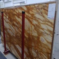 Giallo Siena Marble Slabs
