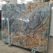Illusion Blue Marble Slabs