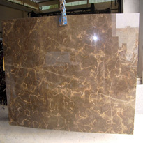 Pietra Brown Marble Slabs