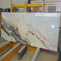 Statuario Rosso Marble Slabs