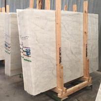 White Lbiza Marble Slabs