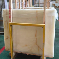 Iran White Onyx Slabs