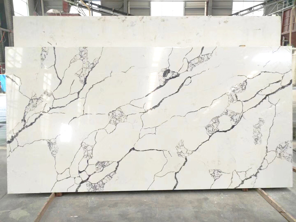 Chinese Engineered Quartz Stone Solid Surface for Kitchen Countertop Table Tops