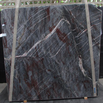 Spider Net Blue Quartzite Slabs