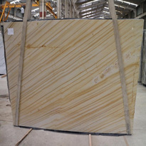 Gold Wood Light Quartzite Slabs