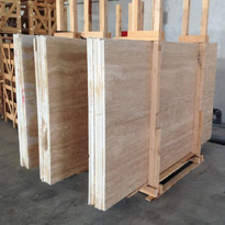 Ivory Travertine Slabs