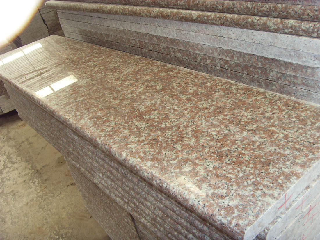 G687 Granite Stairs Polished Steps