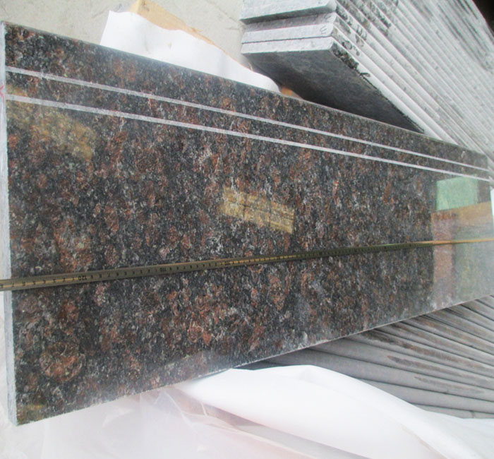 Tan Brown Granite Stairs