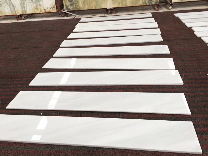 Hunan White Marble Stairs and Steps