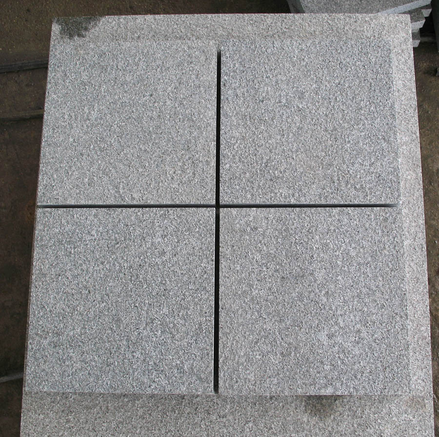 G654 Granite Tiles Flamed Surface