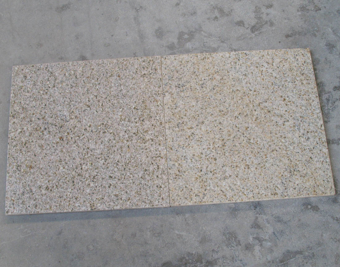 G682 Granite Tiles Yellow Floor Granite Tiles