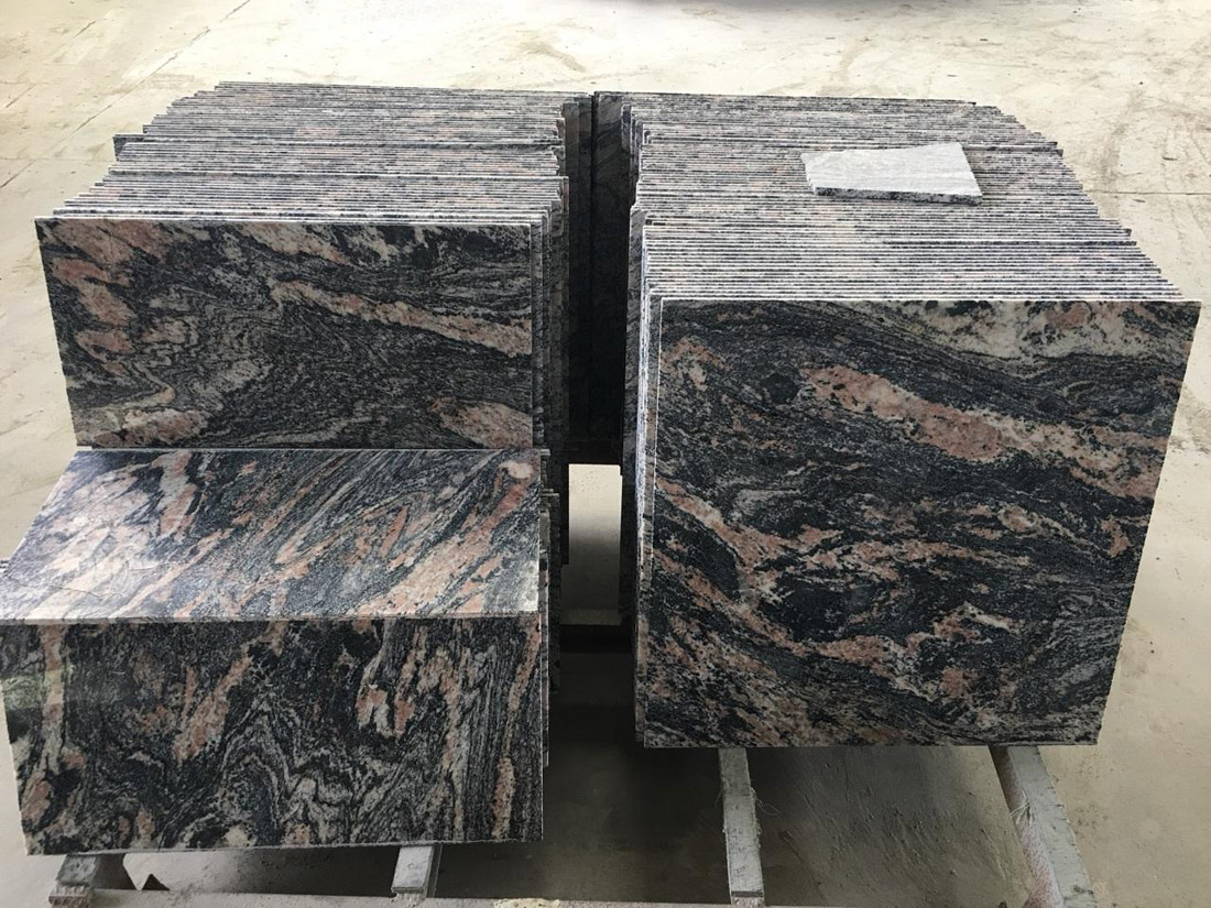 Chinese Red Dragon Granite Tiles