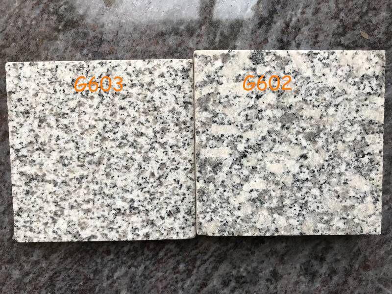 G603 VS G602 Granite Tiles from China