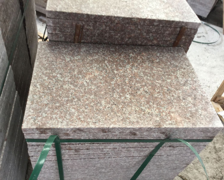 G687 Granite Tiles Polished Flooring Tiles