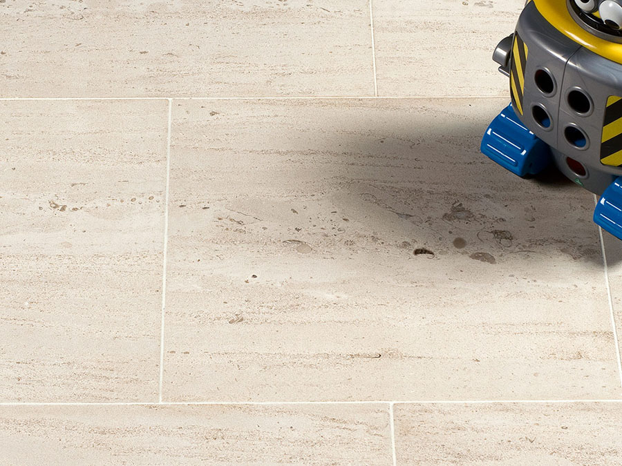 Moca Cream Limestone Tiles Polished Floor Tiles