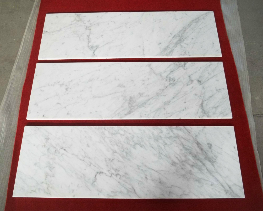 Bianco Carrara White Marble Tiles Marble Flooring and Wall Tiles