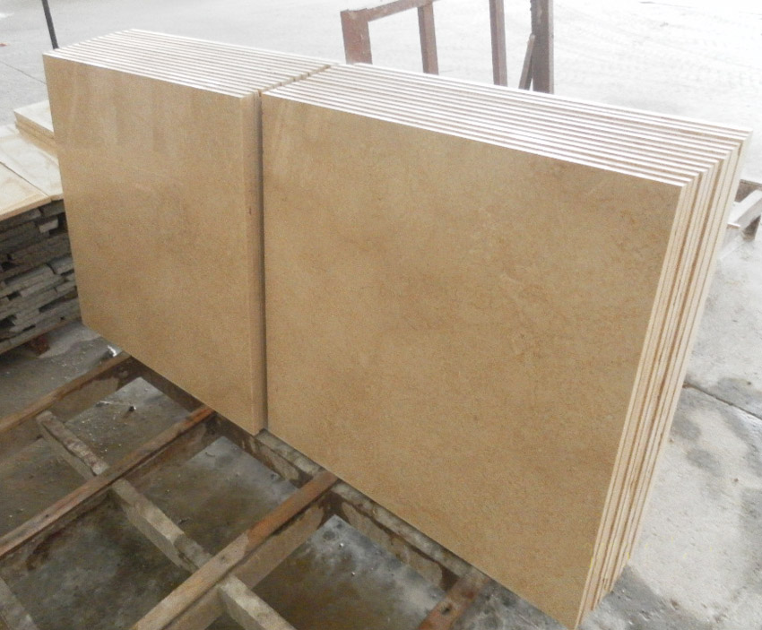 Galala Beige Marble Tiles for Flooring and Wall