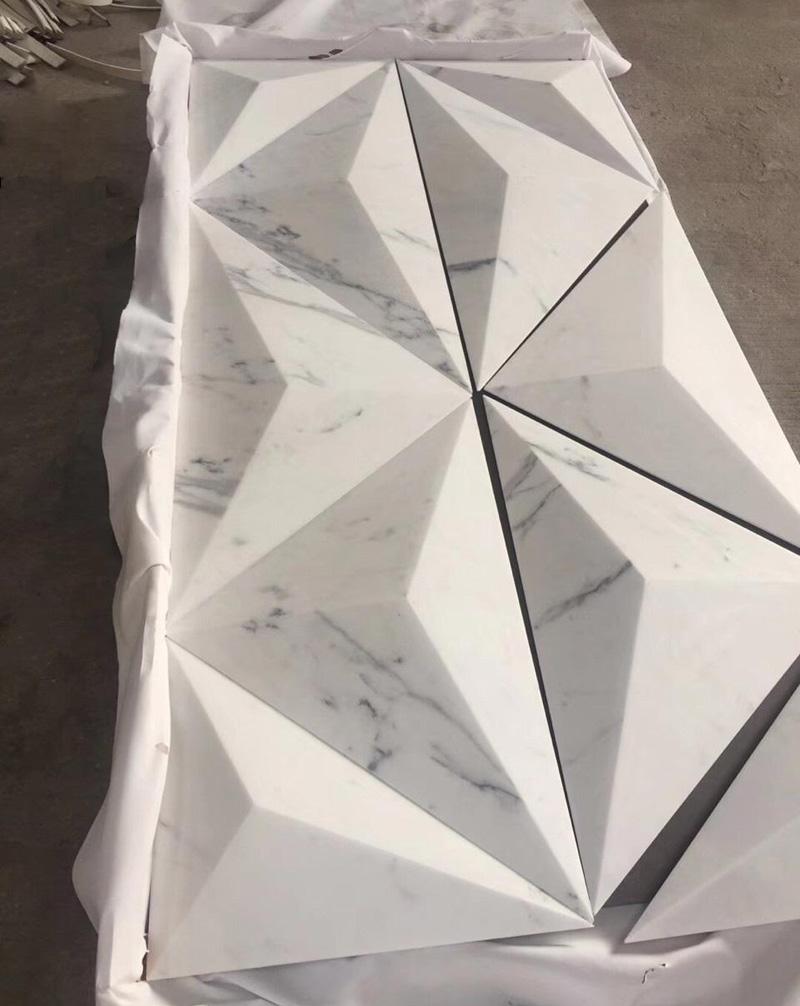 3D Marble Tiles