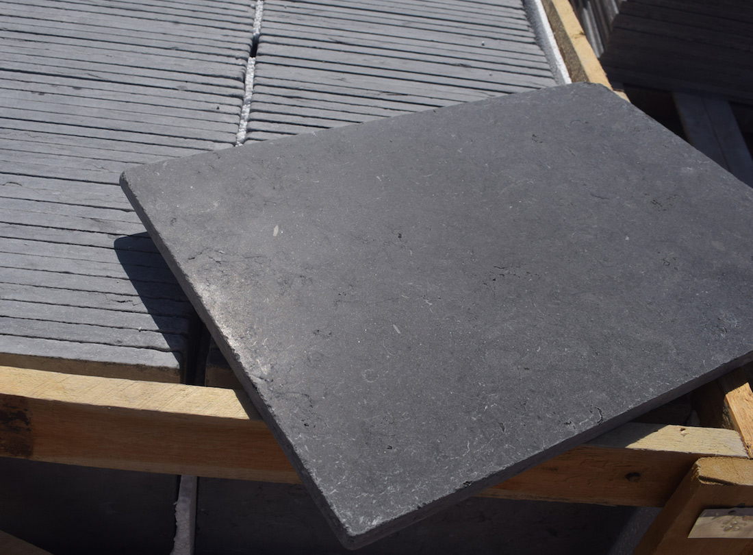 Melly Grey Marble Tumbled Tiles
