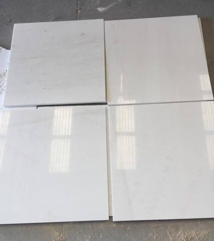 Thassos Marble 60x60 Tiles
