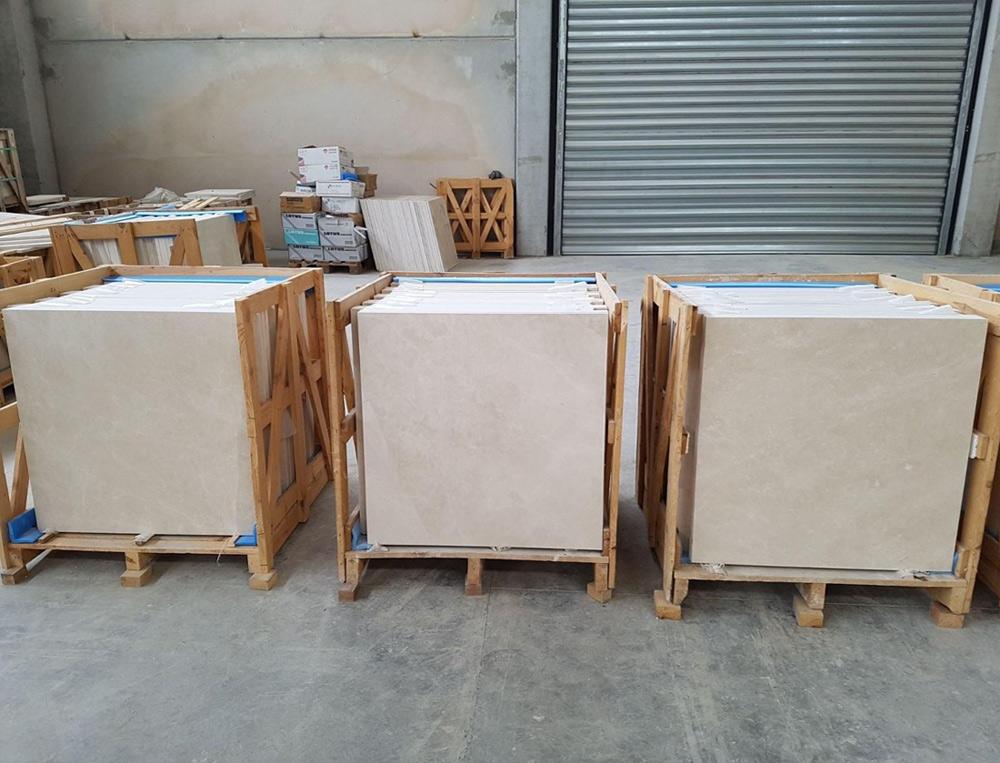 Beige Marble Flooring Tiles