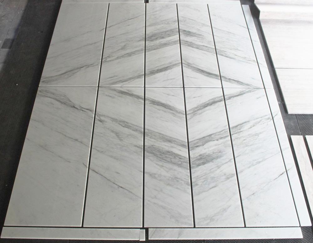 Bianco P Smeraldo Marble Tiles