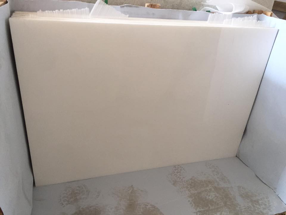 Crystal White Nano Stone Tiles