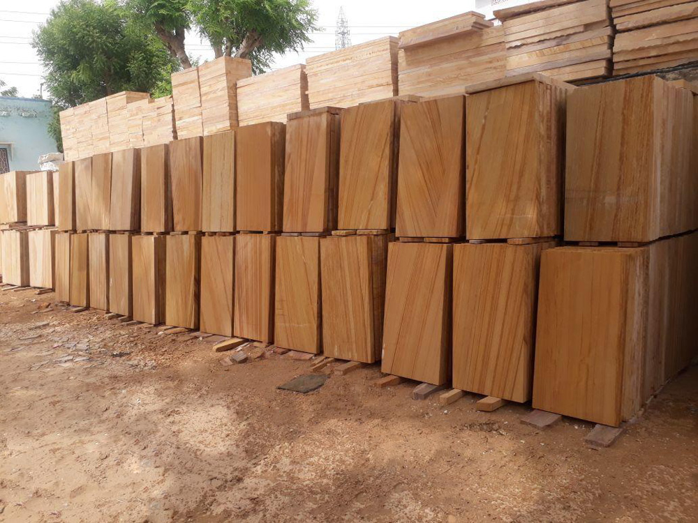 Indian Teakwood Sandstone Outdoor Tiles