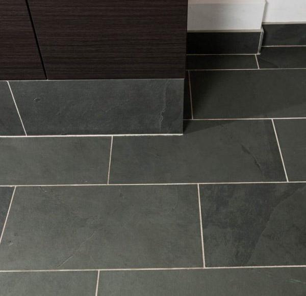 Brazilian Grey Slate Calibrated Floor Tiles