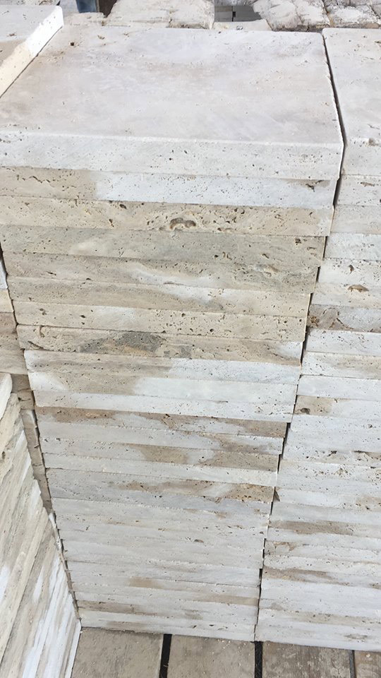 Travertine Cut to Sizes Tiles
