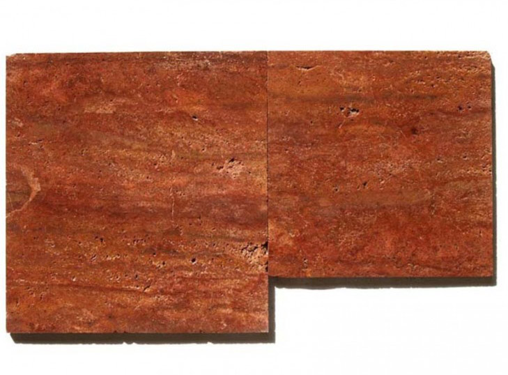 Red Travertine Tiles Spain Malaga