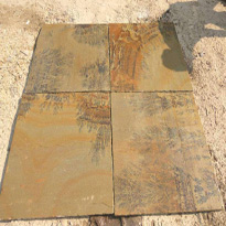 Fossil Mint Sandstone Tiles