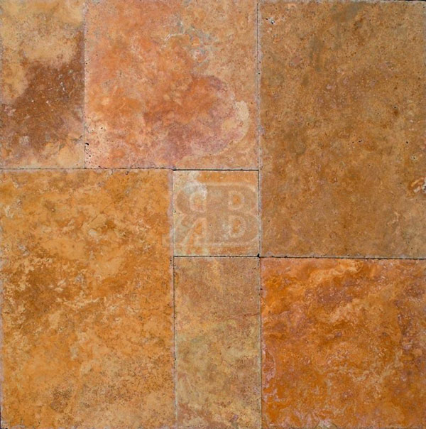 Golden Siena Travertine Tiles