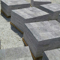 Silver Travertine Tiles