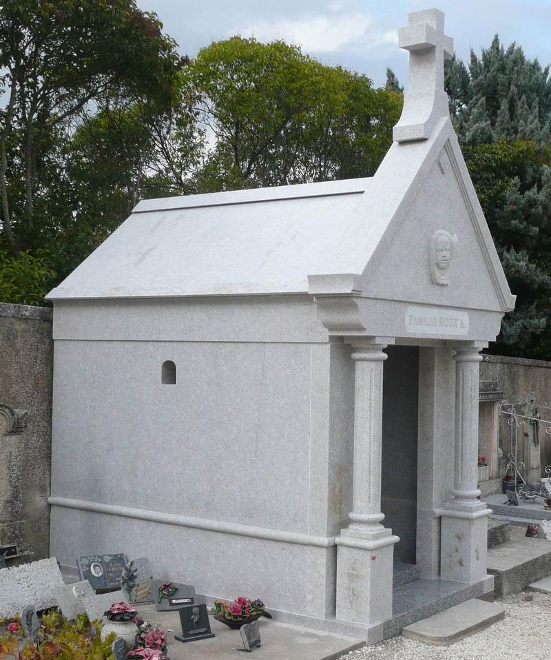 Granite Mausoleum Cemetery Columbarium